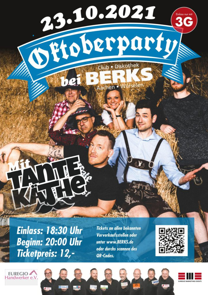 Oktoberparty bei Berk 23.10.2021